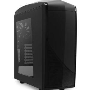 NZXT skrinka Phantom 240/MidTower/bez zdroja/ATX/čierna